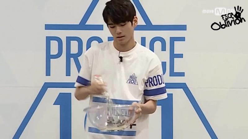 [РУС.САБ] Produce 101 – Время Меренги @ Ong Seong Woo