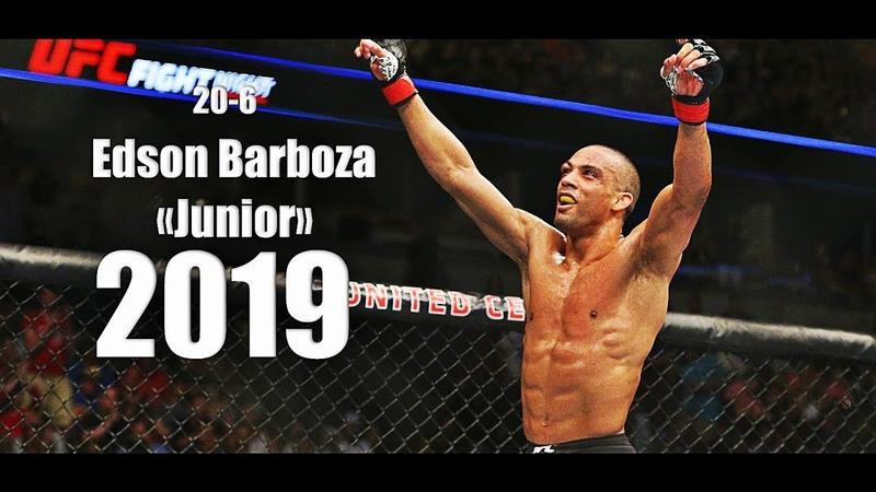 Edson Junior Barboza - All UFC Highlights/Knockout/Momentsᴴᴰ