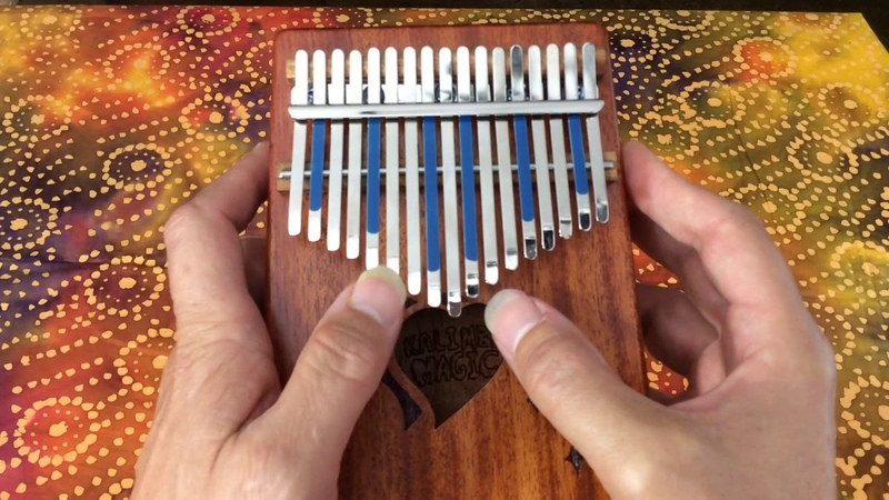 I can't help falling in love with you - on kalimba