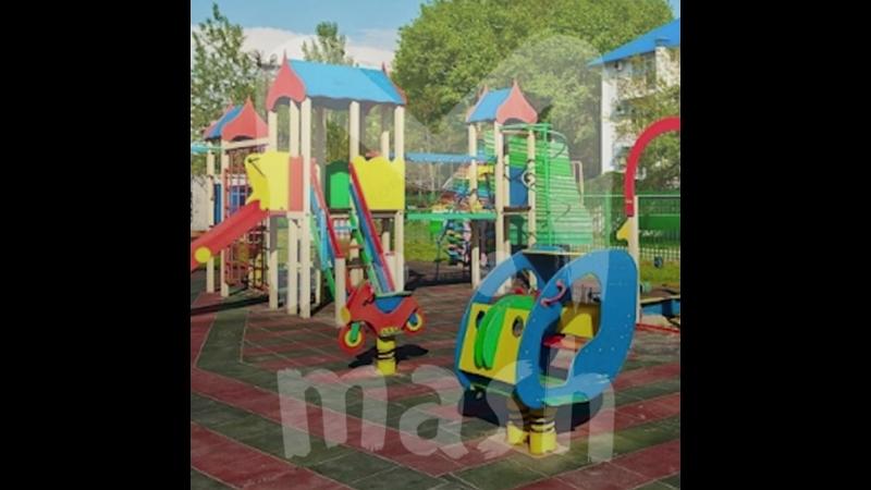 В Москве на детской площадке нашли схему электроподстанций Крыма