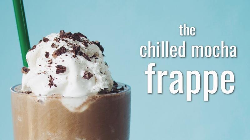 THE CHILLED MOCHA FRAPPE (STARBUCKS COPYCAT) | hot for food