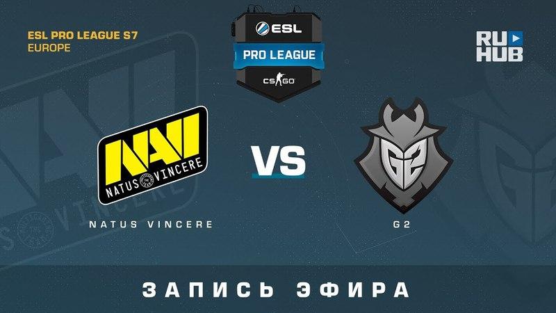 Na`Vi vs G2 - ESL Pro League S7 EU - de_cobblestone [yXo, ceh9]