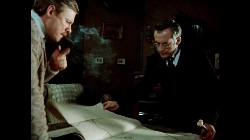Шерлок Холмс и доктор Ватсон — Собака Баскервилей. Часть 1