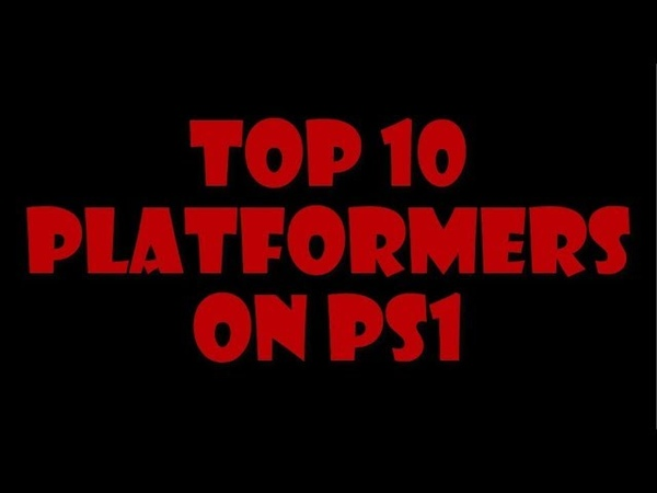 TOP 10 Platformers on PS1