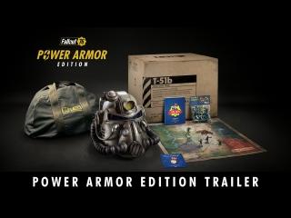 Fallout 76  трейлер Power Armor Edition для E3 2018