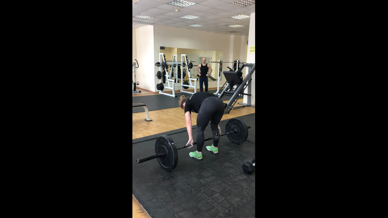 DB Thrusters power clean