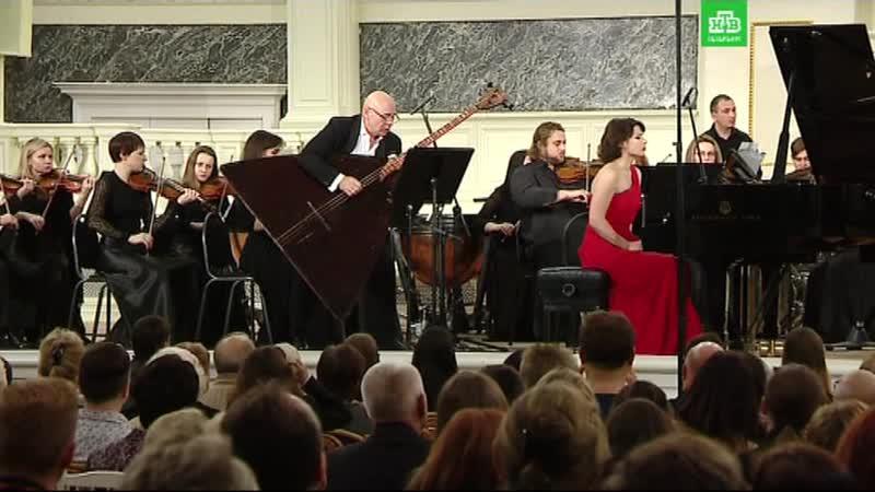 В капелле зазвучал концерт для контрабас-балалайки