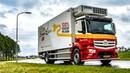 100% positief geladen - elektrische truck Simon Loos