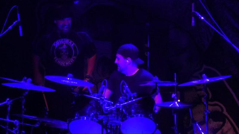 Lombardo Drum Solo War Inside My Head Suicidal Tendencies@Washington DC 9818