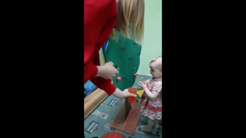 Раннее развитие малышей с 9 месяце в Паритошке