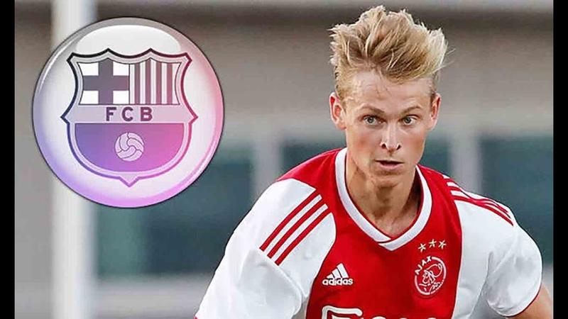 Его Хочет купить Барса и Реал. Frenkie de Jong ● goals ● Skills ● HD