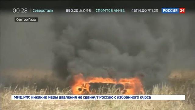 Новости на Россия 24 • Апокалиптические беспорядки в Палестине Израиль применил беспилотники с газом