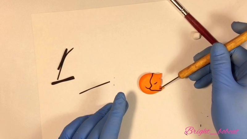 Обучающий мастер класс😍 лепим лису 🦊 из полимерной глины❤️polymer clay fox