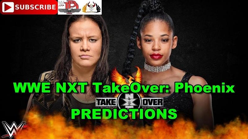 NXT TakeOver Phoenix NXT Women's Championship Shayna Baszler vs Bianca Belair Predictions WWE 2K19