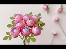 ABC TV | How To Make Miniature Paper Flower With Shape Punch - Craft Tutorial