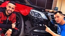 ЧТО ДЕЛАТЬ S Class S560 Гусейна Гасанова красный хром Mercedes за 8 млн теперь время тюнинга