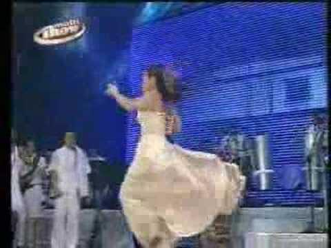 Daniela Mercury - Vestido de Chita