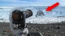 Фотограф оставил камеру на льду Через пару минут она сняла то что встревожило многих