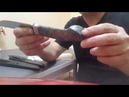 Кованый нож из стали х12мф Фарт и болтовня про остренькое