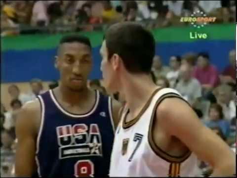 1992 Dream Team vs Germany - Barcelona Olympics Game 3