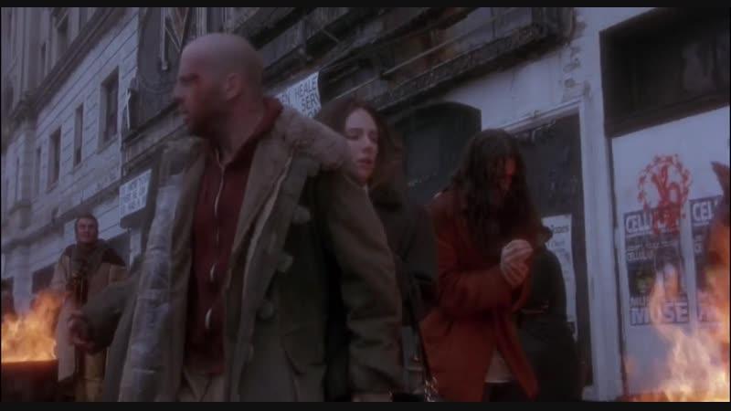 12 обезьян Twelve Monkeys 1995 Терри Гиллиам фантастика триллер детектив