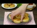 Объедение, которое можно приготовить всего за 30 минут! Слойки с ветчиной и сыром.