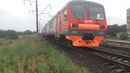 2018 Электропоезд ЭД9М-1021 Орск → Кувандык