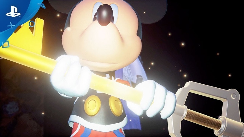 Kingdom Hearts III - Celebrating 90 Years of Mickey Mouse Trailer | PS4