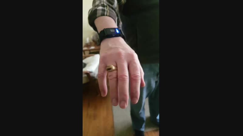 My father-in-law developed Parkinson's years ago, and I always research or buy tech that could help him. I bought this wristband