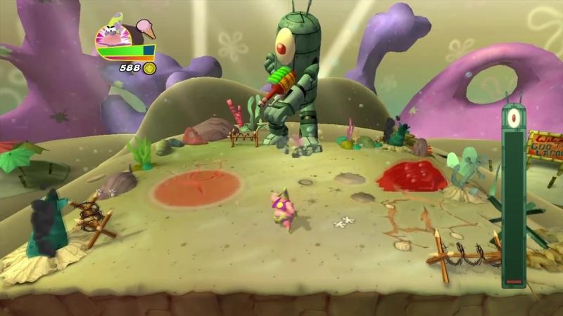 [ShadowBMX] Прохождение SpongeBob HeroPants (Часть 3)