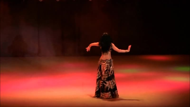 Sexy unique oriental belly dance Goddes Ishtar Amira Abdi