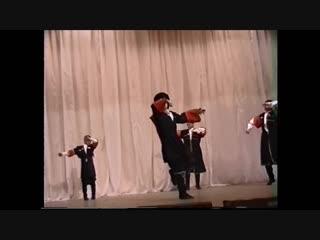 М. Куклин и А. Крупельницкий и В. Литвинцев участники Танцы на ТНТ Лезгинка