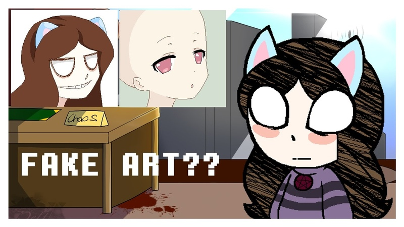 What is a fake artist and what is a fake artist. [Speedpaint.]