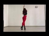 Александра Киноян. Exotic pole dance   Kats dance studio