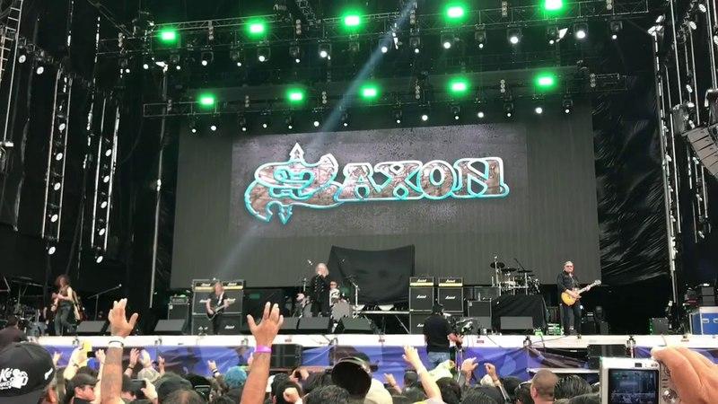 "Saxon 747 Strangers In the Night "" en el Corona Hell Heaven Metal Fest México 🇲🇽 CDMX 2018"