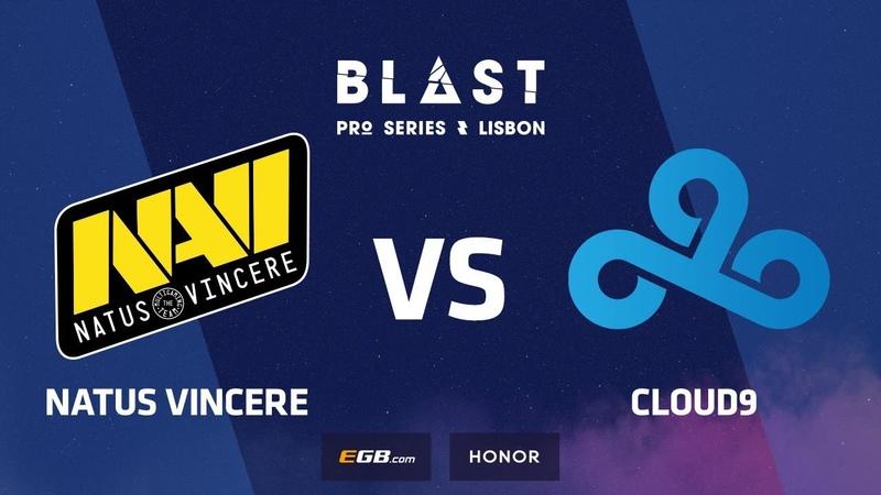 Natus Vincere vs Cloud9, Overpass, BLAST Pro Series Lisbon 2018