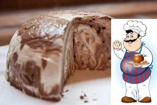 Десерт Мраморный (творожный)