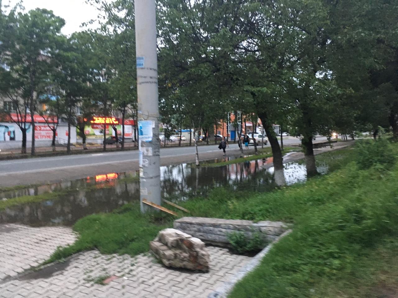 остановка Комарова Уссурийск