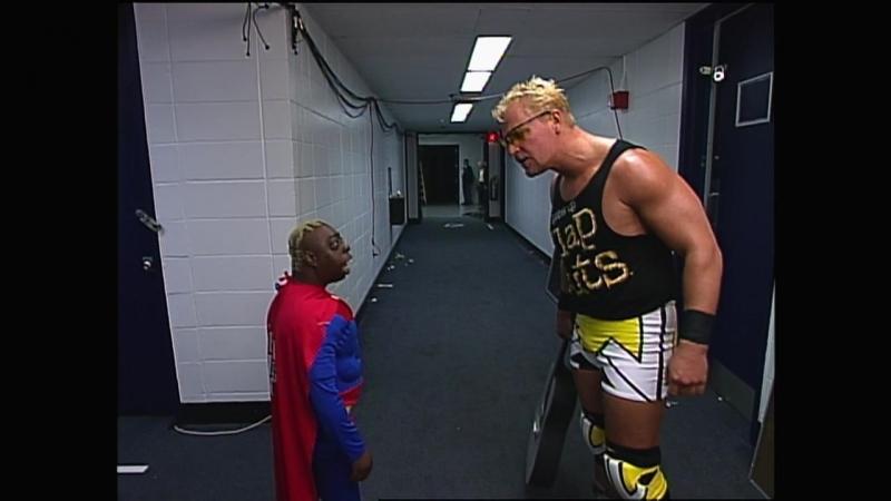 WCW Monday Nitro 2000.09.25 Jeff Jarrett met Beetle Juice