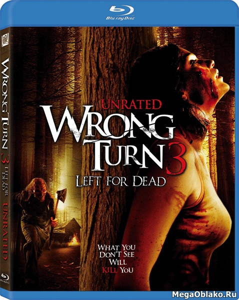 Поворот не туда 3 / Wrong Turn 3: Left for Dead [Unrated] (2009/BDRip/HDRip)