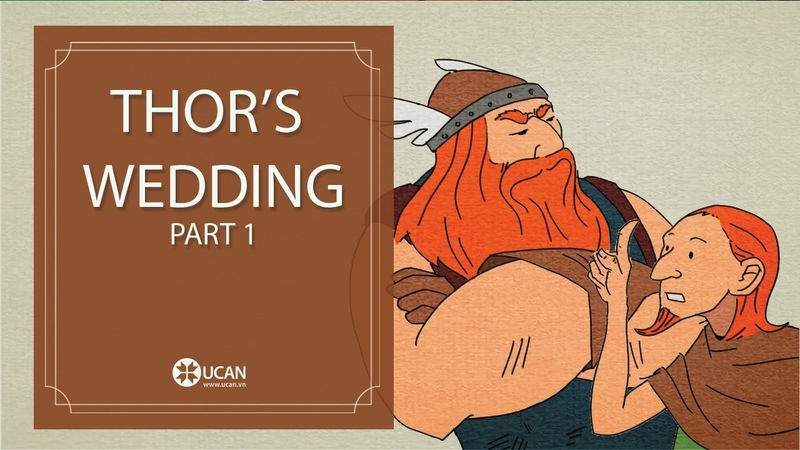 Learn English Listening | English Stories - 44. Thor's Wedding Part 1