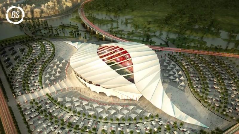 8 Increíbles Estadios del Mundial QATAR 2022 -- Construcciones Asombrosas