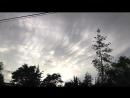Трубчатые облака в Боготе 12 мая 2018 года