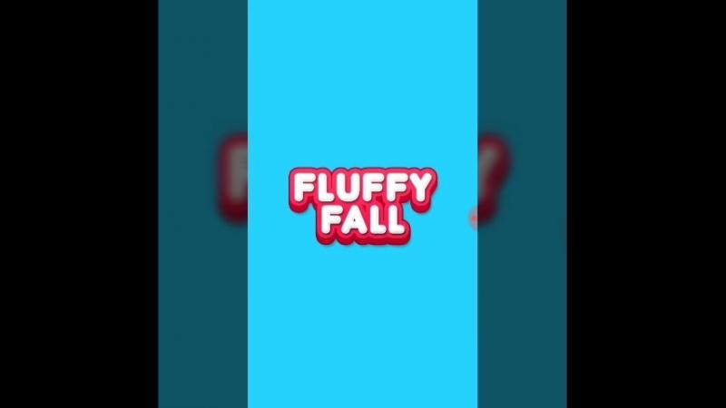Letsplay на игру Fluffy Fall .