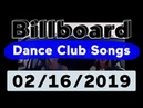 Billboard Top 50 Dance Club Songs (February 16, 2019)