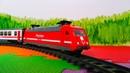 Железная дорога и Поезд - Игрушки для мальчиков - Видео для детей
