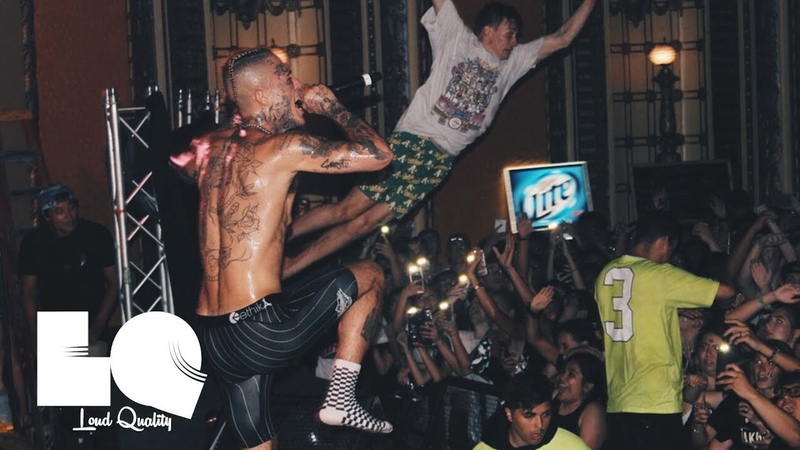 🔥 Lil Skies Performs XXXTENTACION Sad More Live In Chicago   Cole Bennetts 1st Stage Dive  