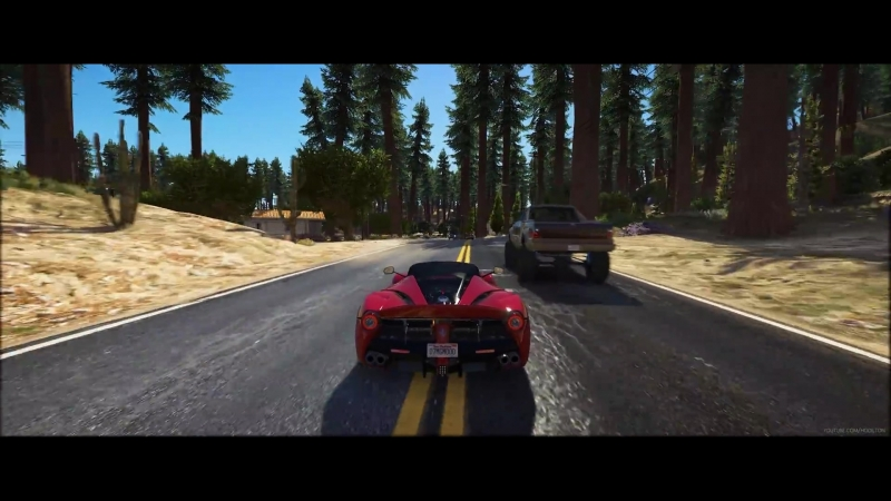 GTA 5 Mods - Forests of San Andreas - Ultra Realistic Graphics