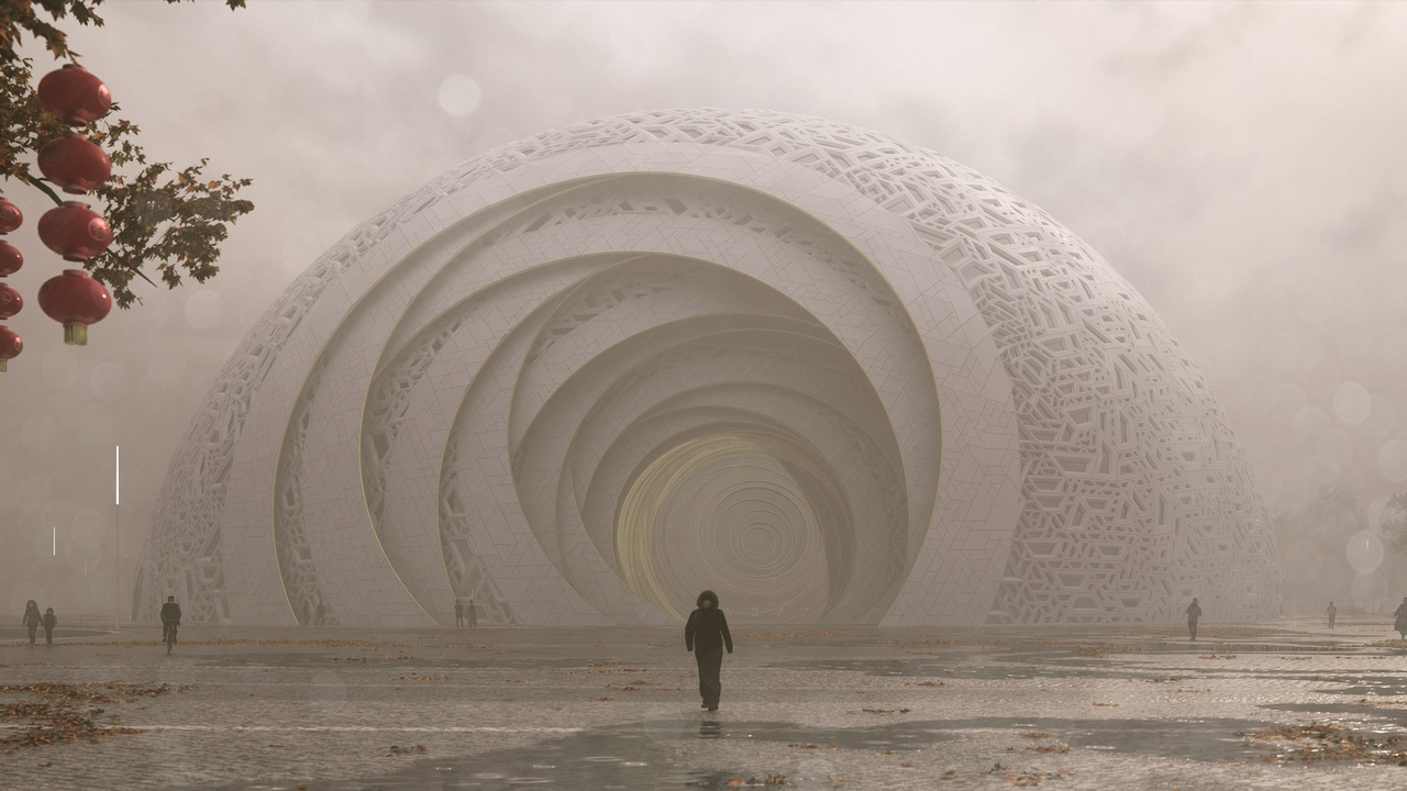 Новое фантастическое здание построят в Китае