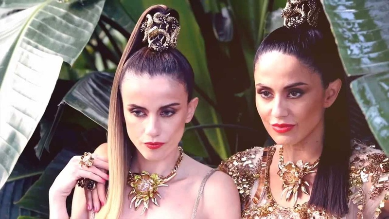 Paola Chiara - Giungla Photoshooting Backstage